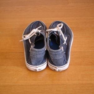 43ec8526e87a Vans Shoes - VANS Men s (Sz 10.5) Blue Denim Lace-up Ultra Cush